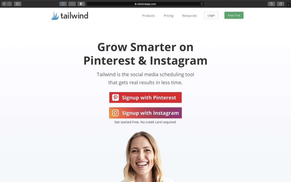 I use Tailwind to manage my presence on Pinterest